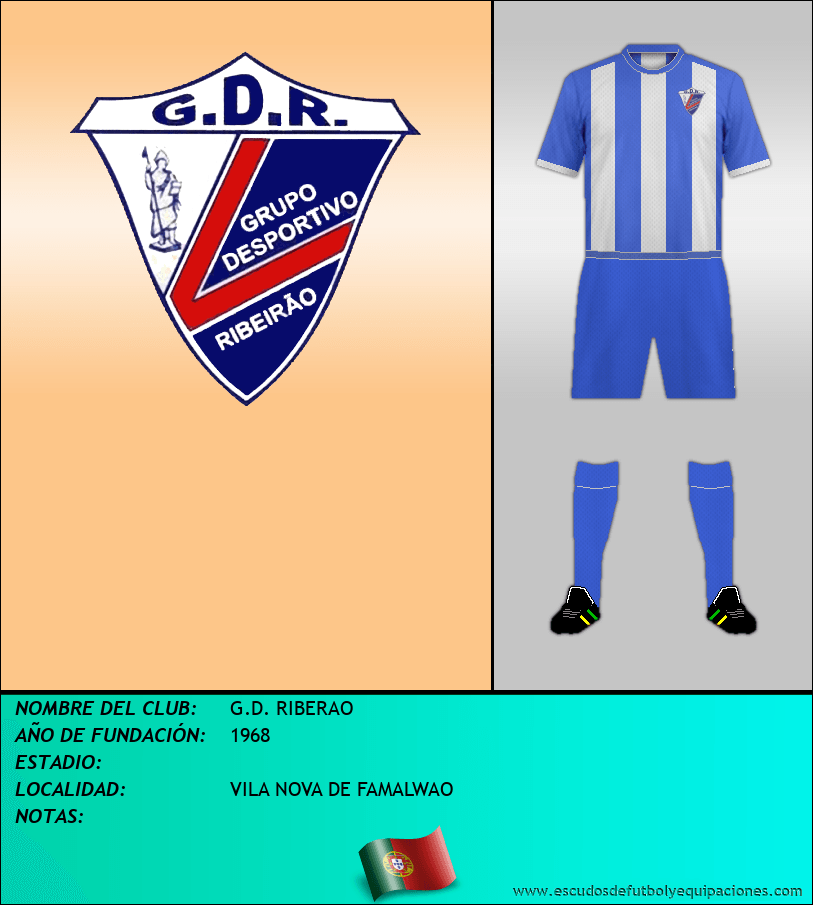 Escudo de G.D. RIBERAO