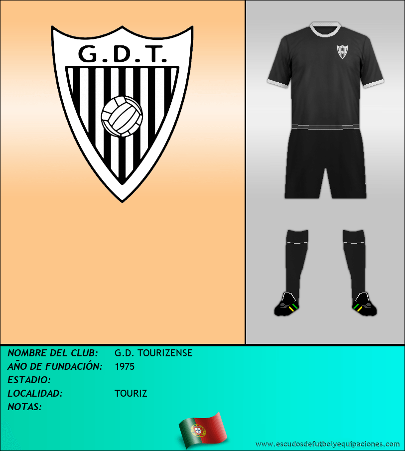 Escudo de G.D. TOURIZENSE
