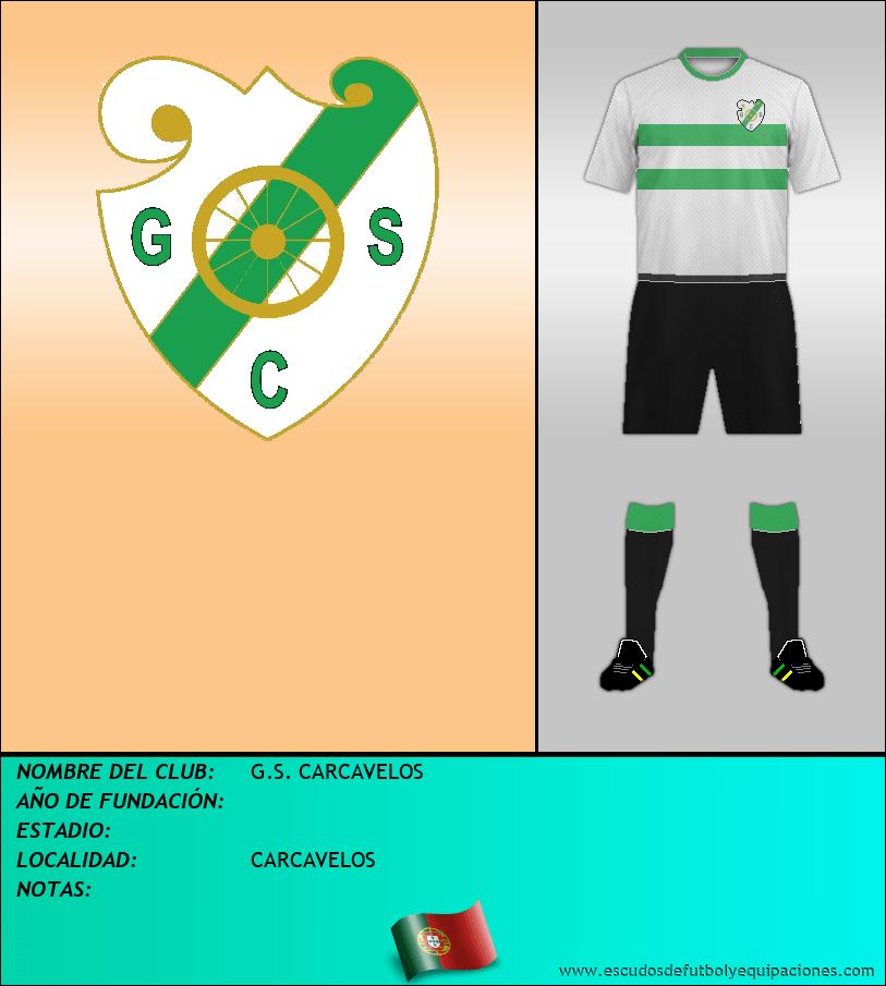 Escudo de G.S. CARCAVELOS