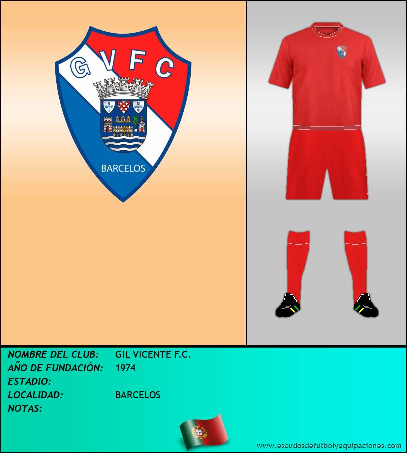 Escudo de GIL VICENTE F.C.