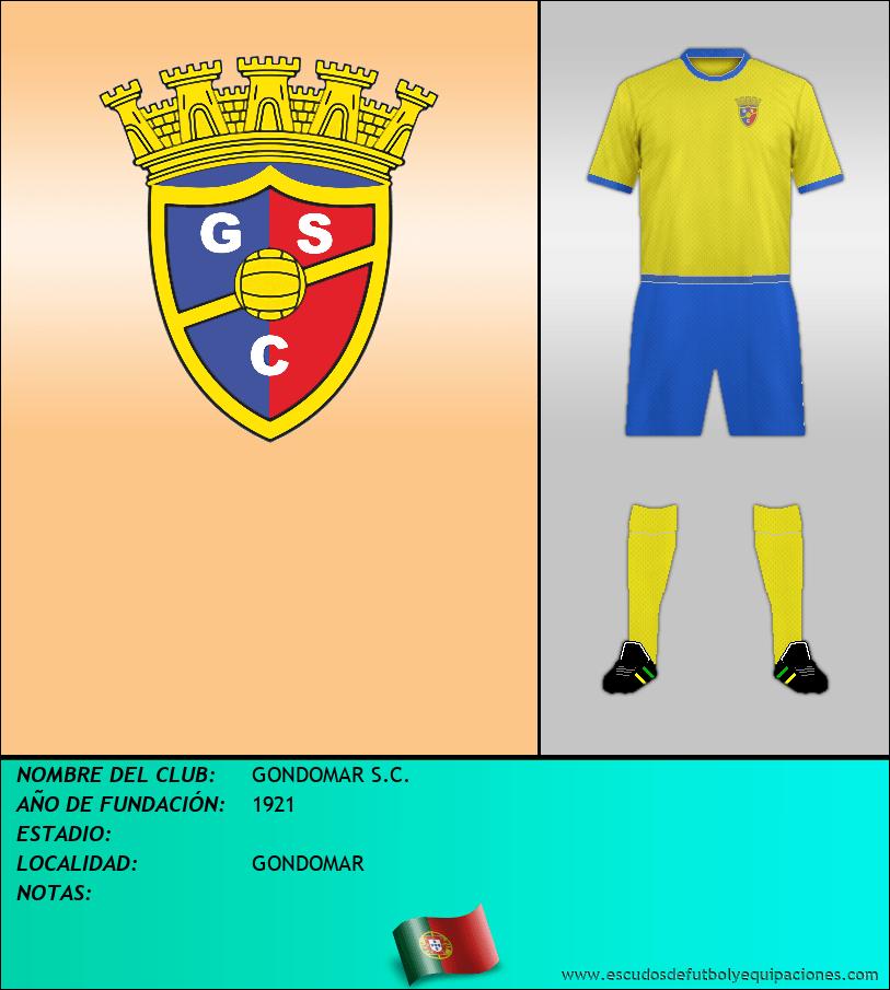 Escudo de GONDOMAR S.C.