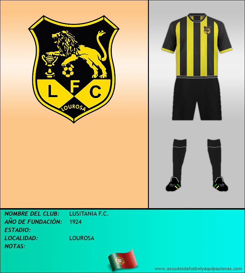 Escudo de LUSITANIA F.C.