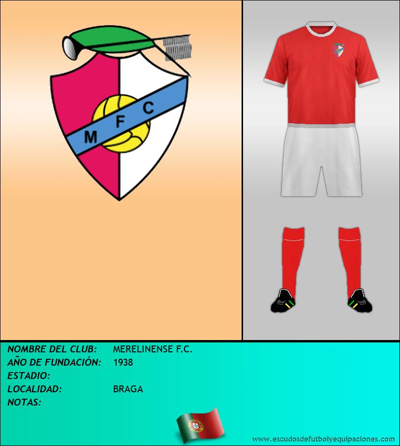Escudo de MERELINENSE F.C.