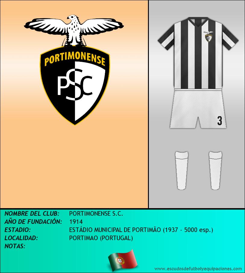 Escudo de PORTIMONENSE S.C.