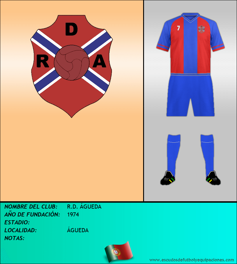 Escudo de R.D. ÁGUEDA