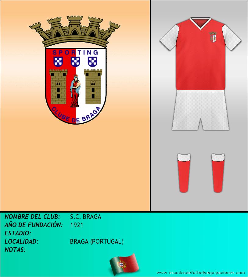 Escudo de S.C. BRAGA