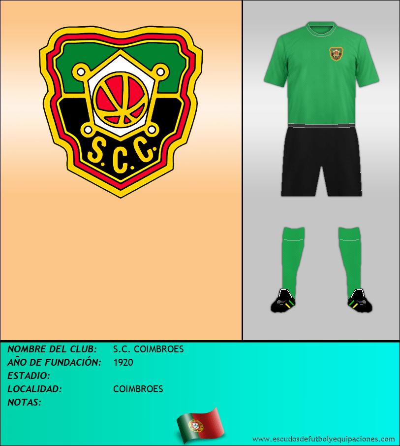 Escudo de S.C. COIMBROES