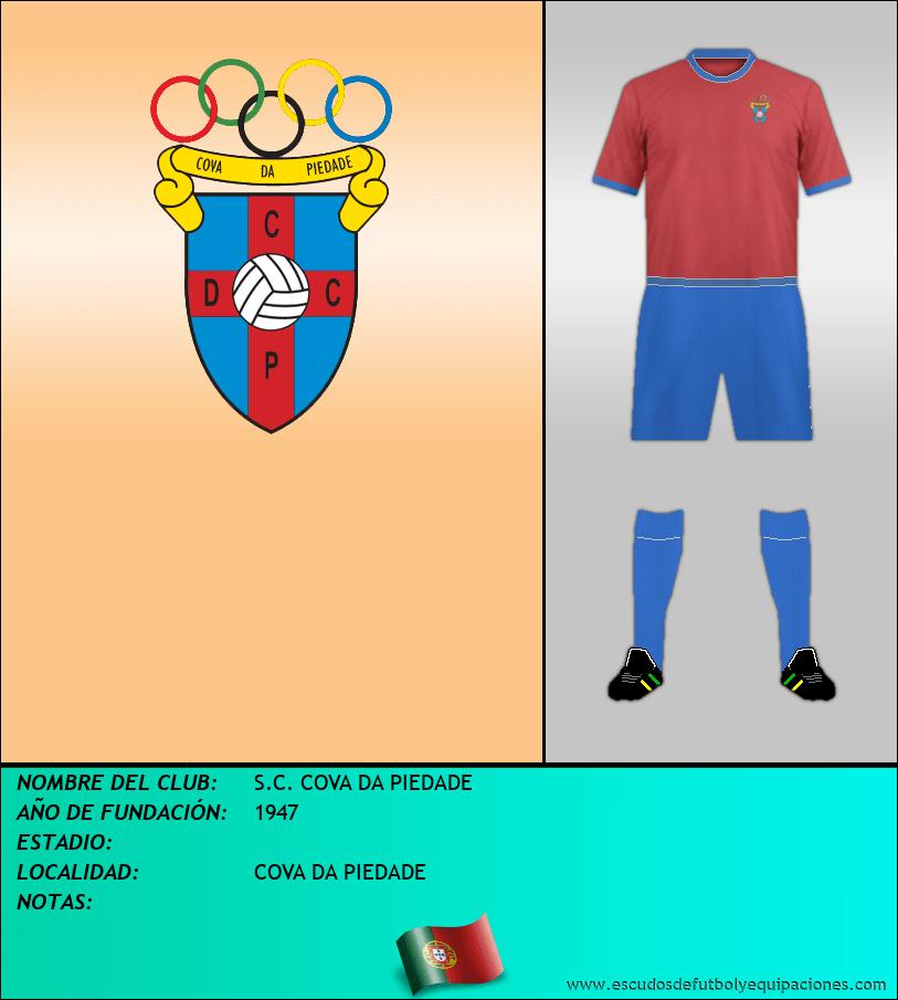Escudo de S.C. COVA DA PIEDADE