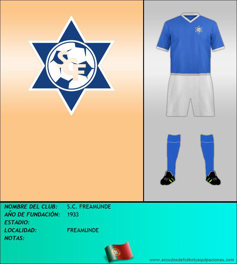 Escudo de S.C. FREAMUNDE