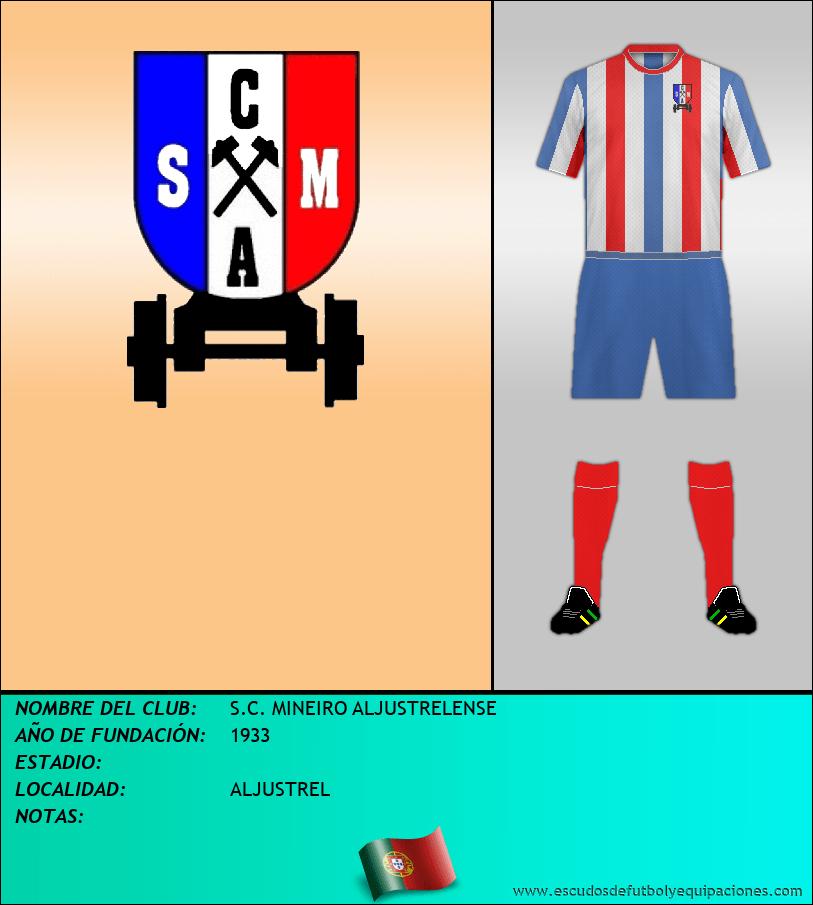 Escudo de S.C. MINEIRO ALJUSTRELENSE