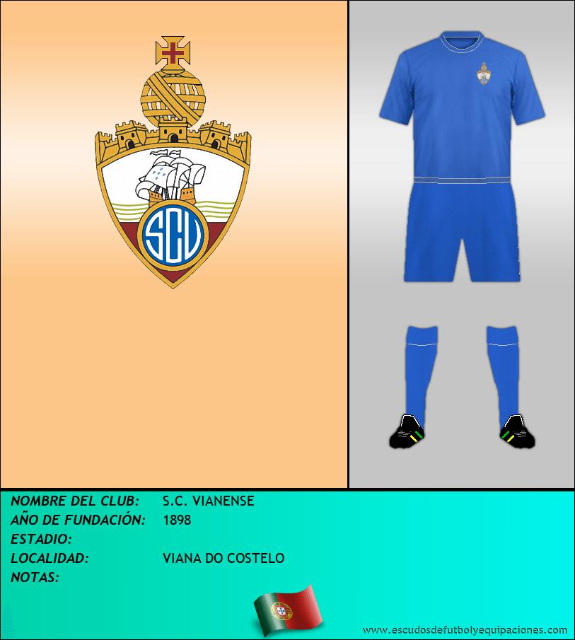 Escudo de S.C. VIANENSE