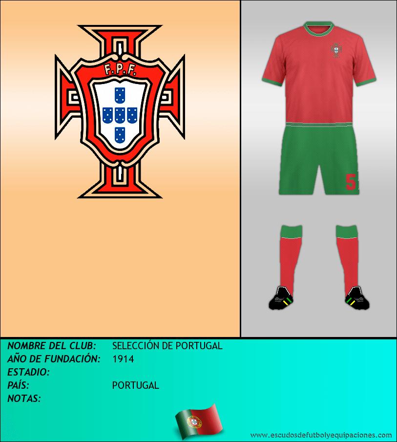 Escudo de SELECCIÓN DE PORTUGAL