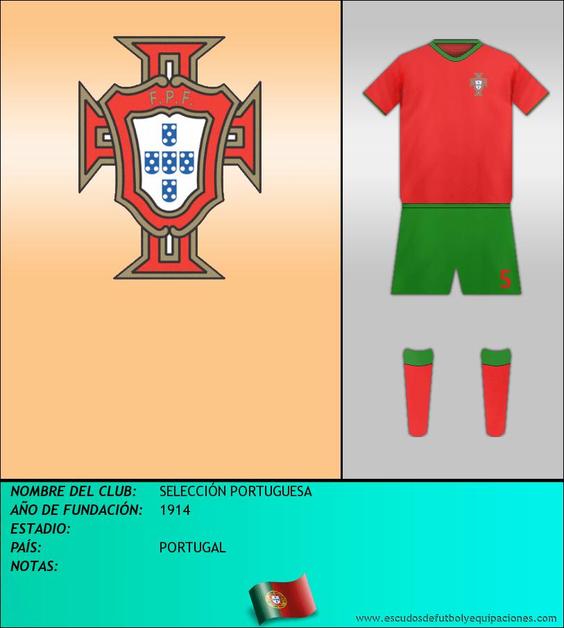 Escudo de SELECCIÓN PORTUGUESA