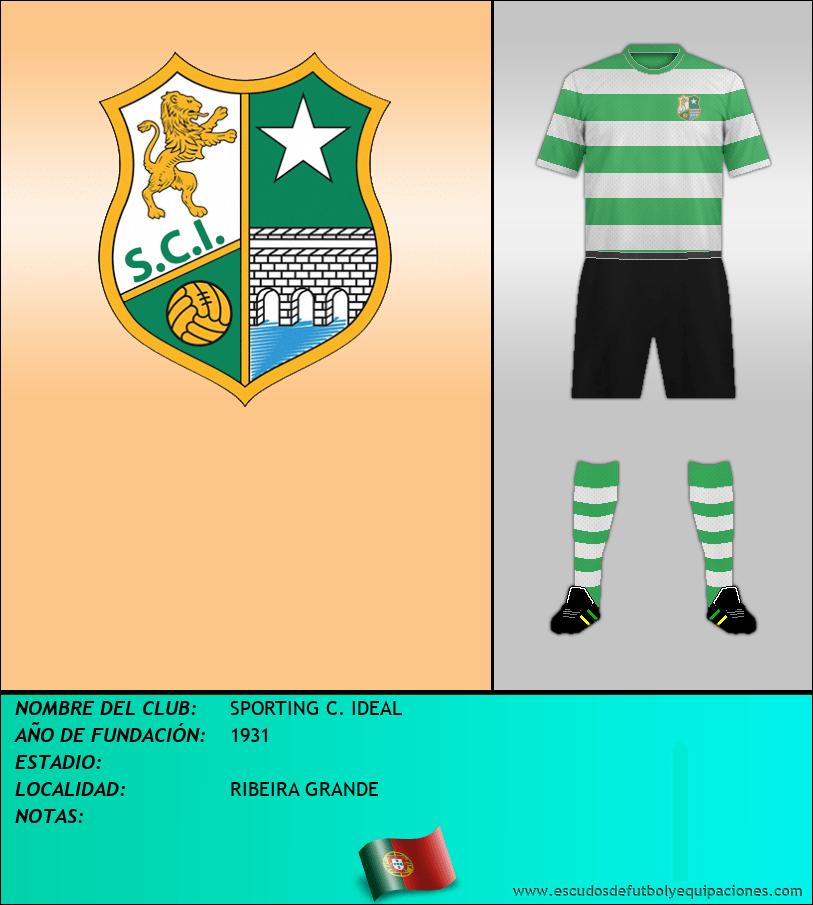 Escudo de SPORTING C. IDEAL