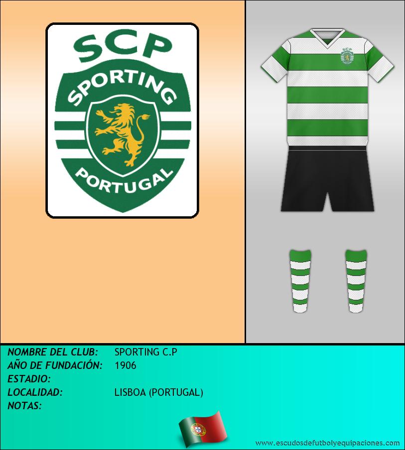 Escudo de SPORTING C.P
