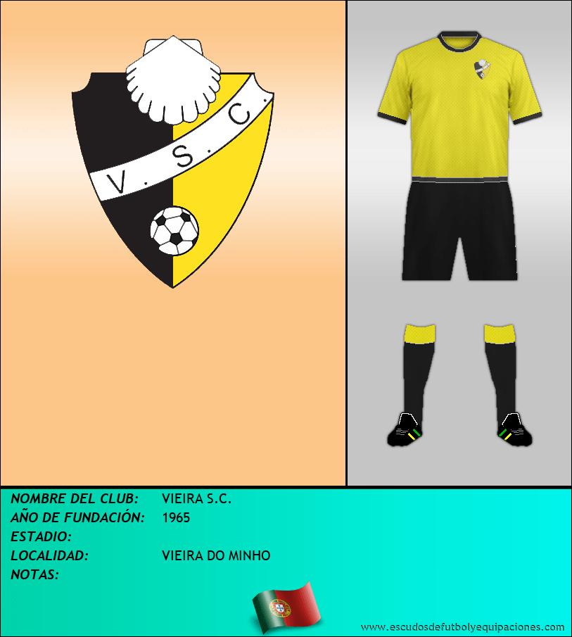 Escudo de VIEIRA S.C.