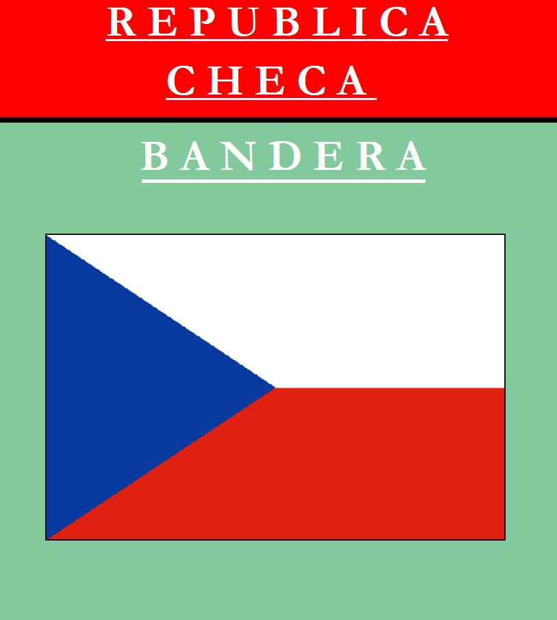 Escudo de BANDERA DE REPÚBLICA CHECA