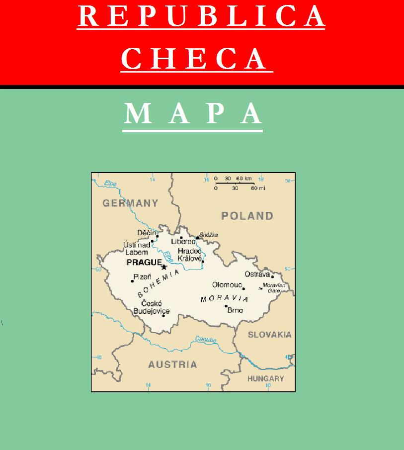 Escudo de MAPA DE REPÚBLICA CHECA