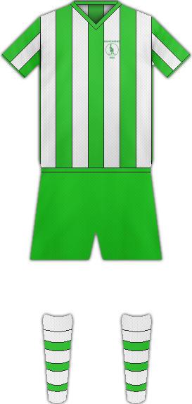 Equipación FC BOHEMIANS 1905