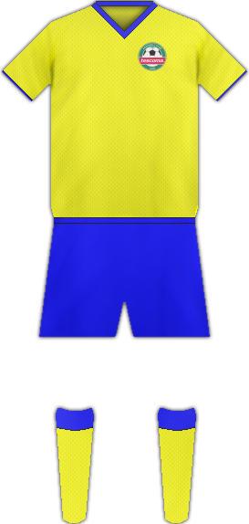 Equipación FC TESCOMA
