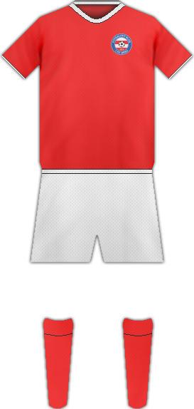 Equipación FK 1. FC BRNO