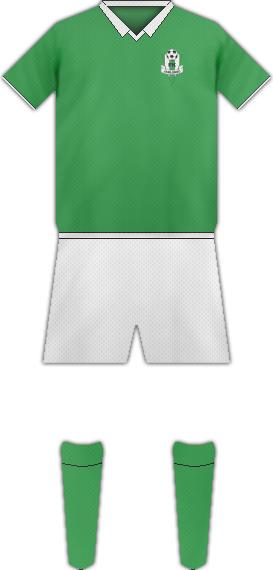 Equipación FK JABLONEC