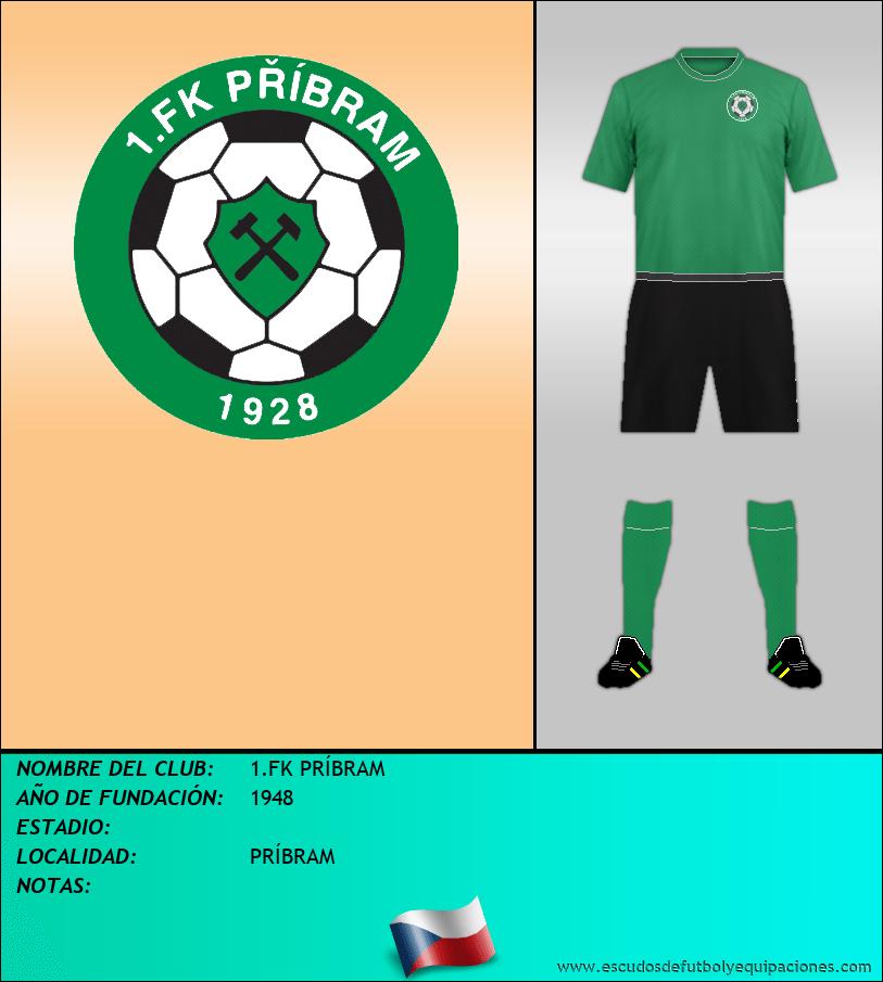 Escudo de 1.FK PRÍBRAM