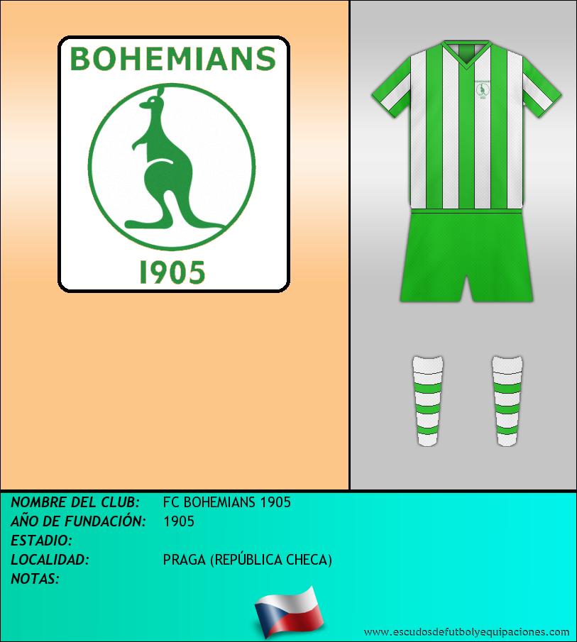 Escudo de FC BOHEMIANS 1905
