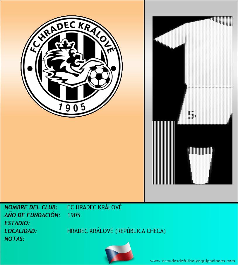 Escudo de FC HRADEC KRÁLOVÉ