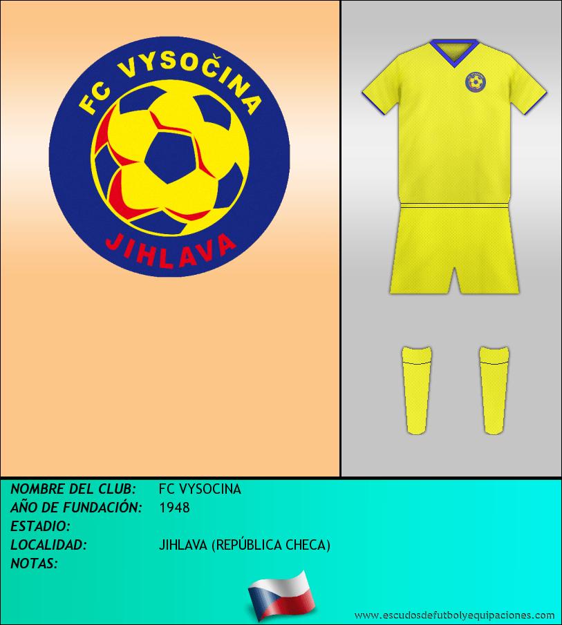 Escudo de FC VYSOCINA