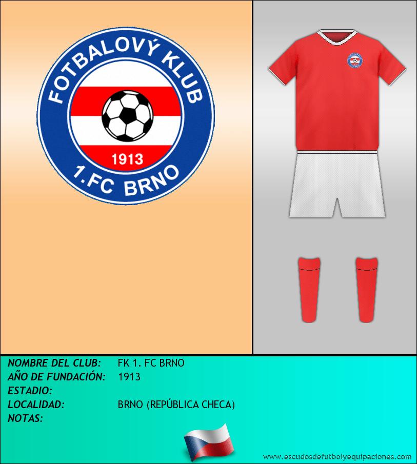 Escudo de FK 1. FC BRNO