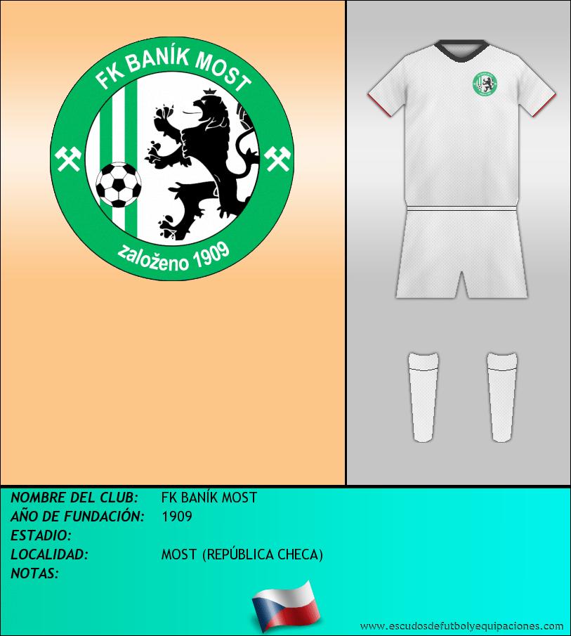 Escudo de FK BANÍK MOST