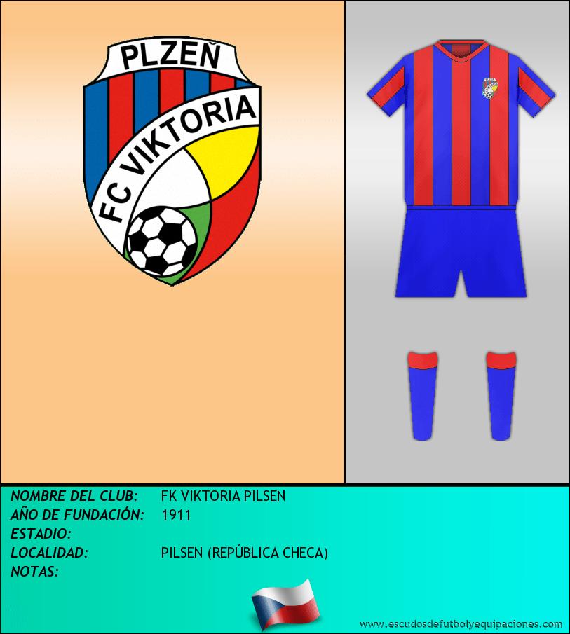 Escudo de FK VIKTORIA PILSEN