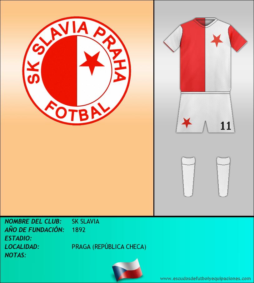 Escudo de SK SLAVIA