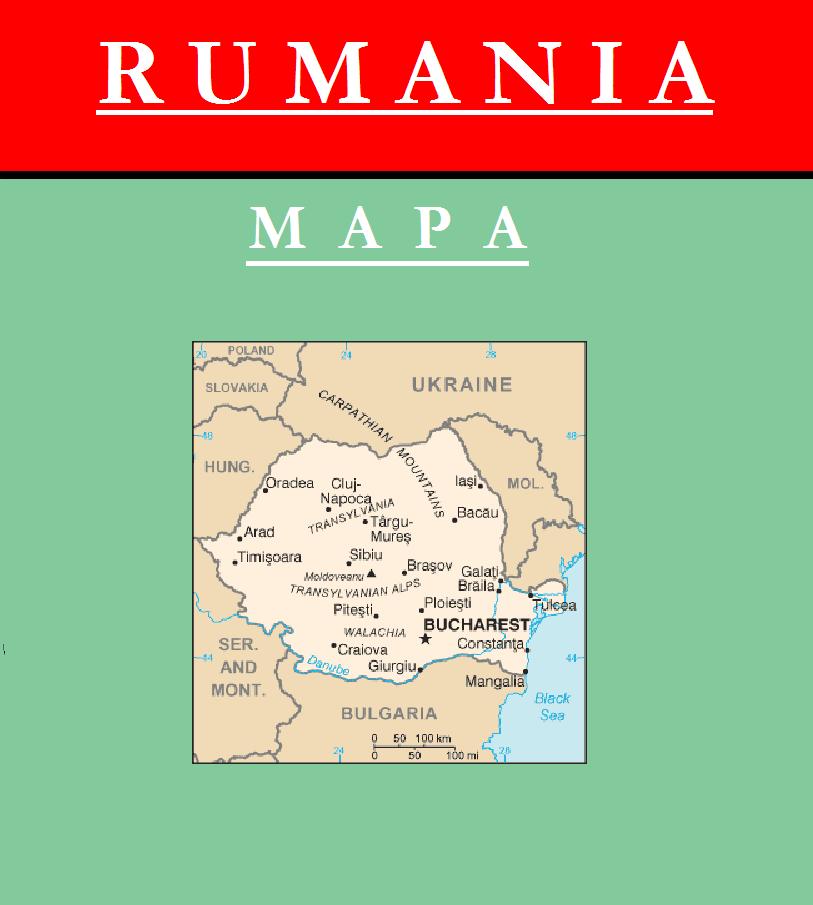 Escudo de MAPA DE RUMANÍA