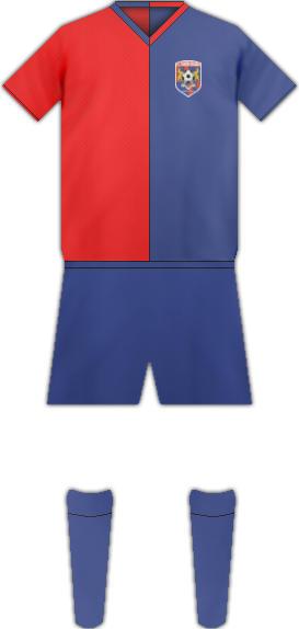 Equipación FC BIHOR