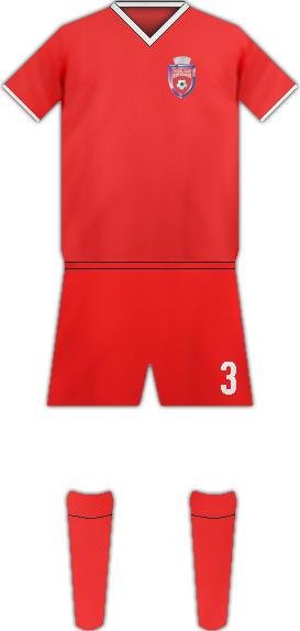 Equipación FC BOTOSANI