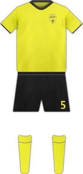 Equipación FC BRASOV