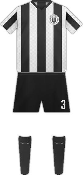 Equipación FC UNIVERSITATEA CLUJ