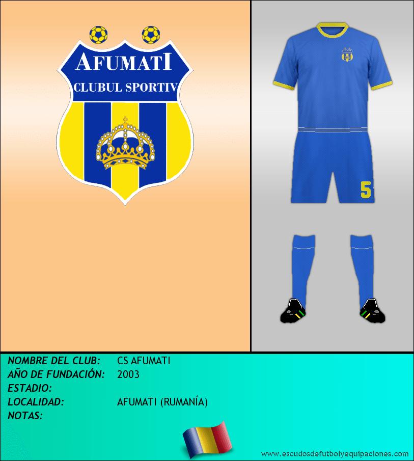 Escudo de CS AFUMATI