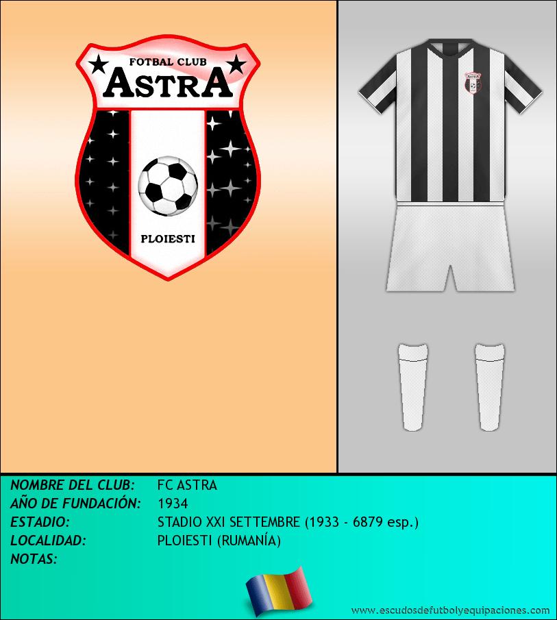 Escudo de FC ASTRA