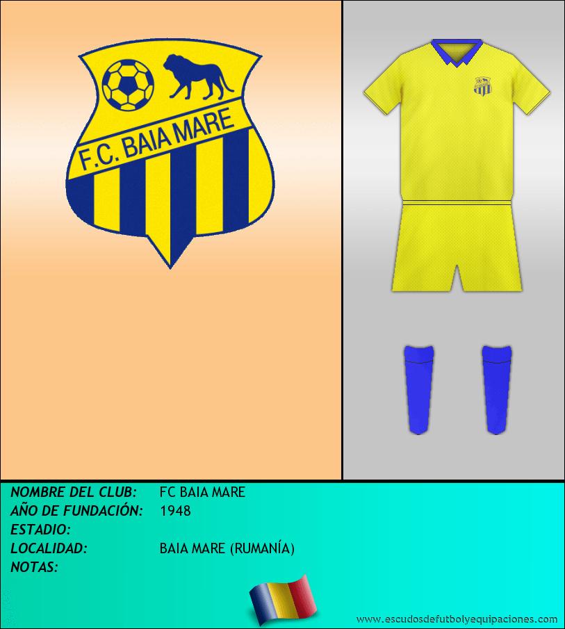 Escudo de FC BAIA MARE