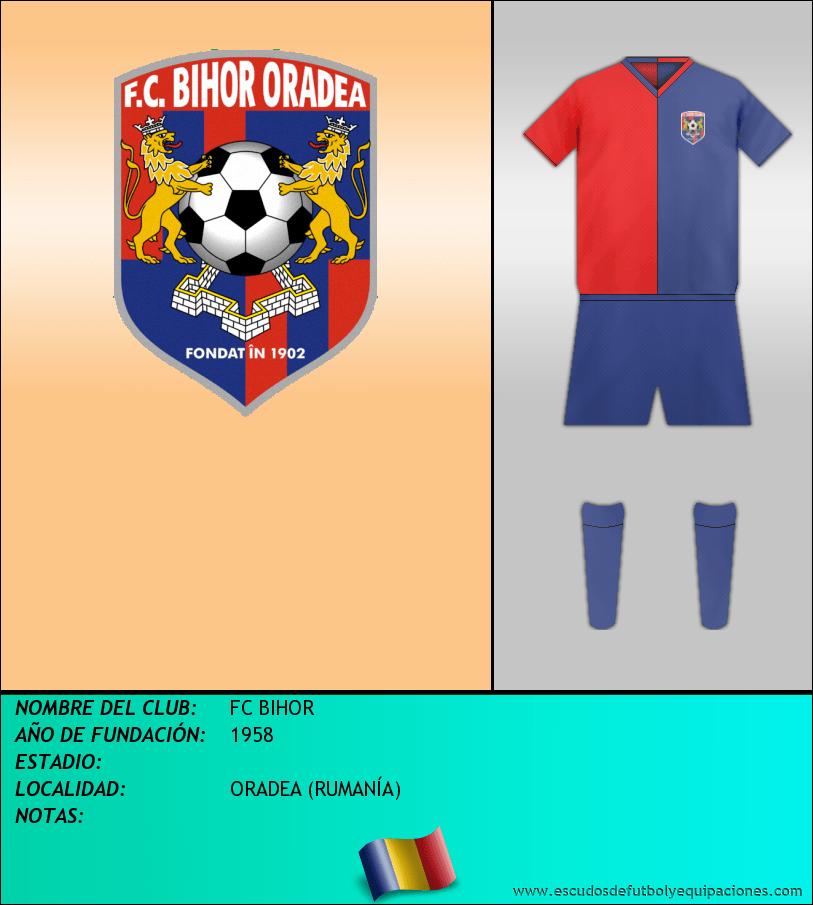 Escudo de FC BIHOR