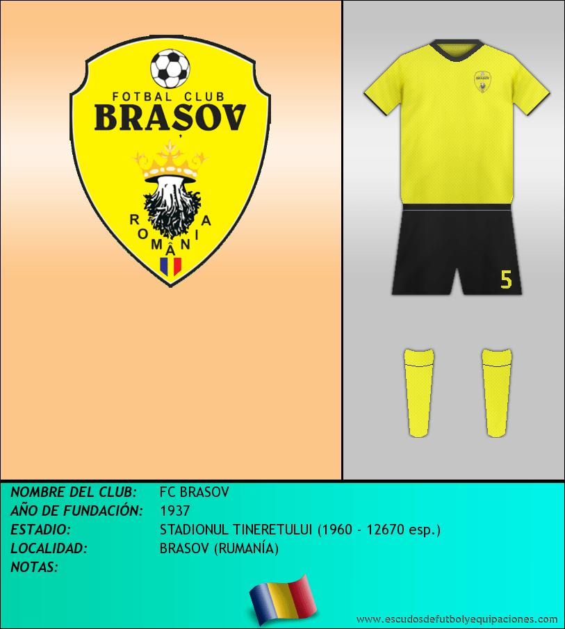 Escudo de FC BRASOV