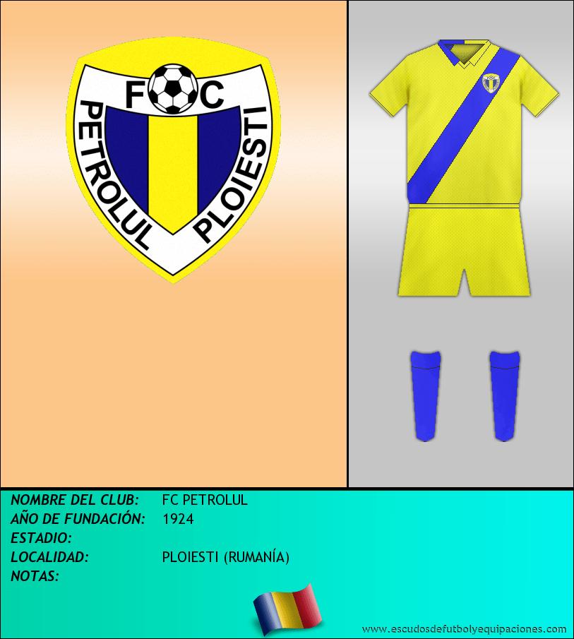 Escudo de FC PETROLUL