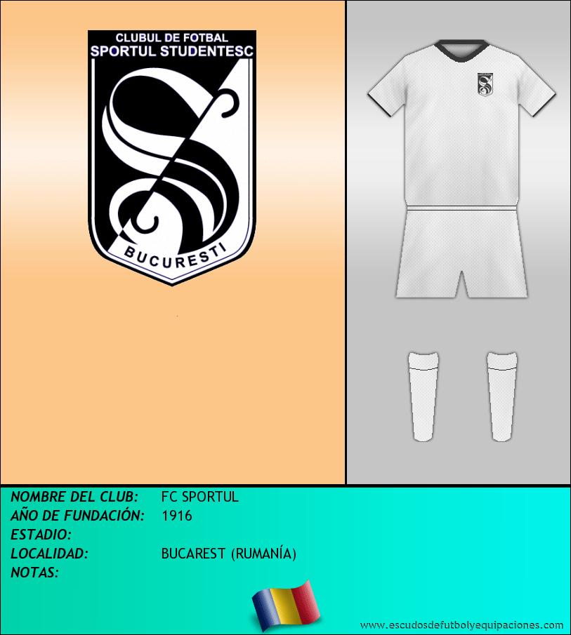 Escudo de FC SPORTUL
