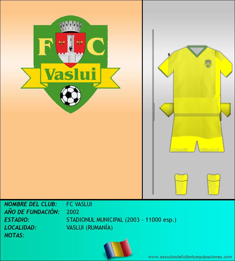 Escudo de FC VASLUI