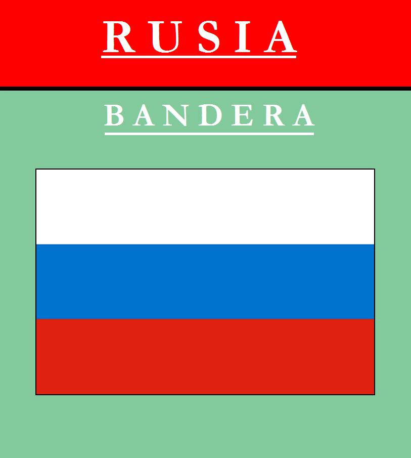 Escudo de BANDERA DE RUSIA