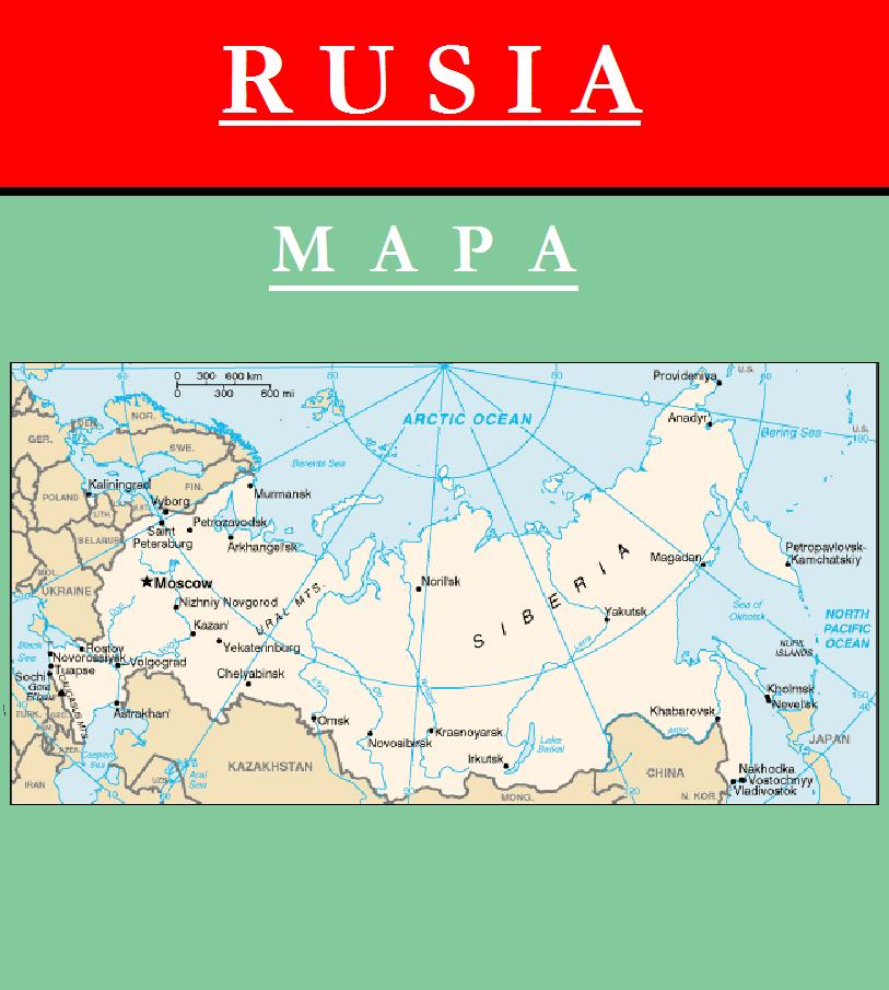 Escudo de MAPA DE RUSIA