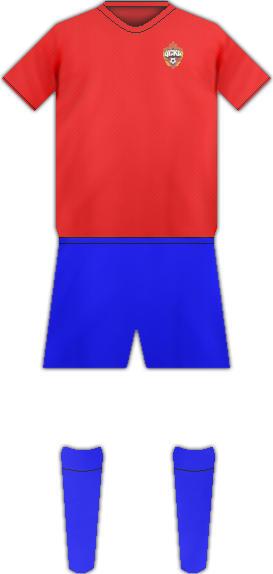 Equipación CSKA MOSCU